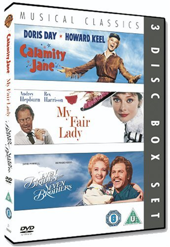 Musical Classics 3-Disc Set: Calamity Jane, Seven Brides For Seven Brothers and My Fair Lady [DVD] by Audrey Hepburn (Lady Fair Film Dvd My)