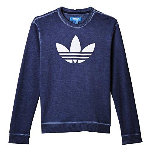 adidas Jungen Sweatshirt J Tery Crew F, Blau/Weiß, 146, 4056559589295 Preisvergleich