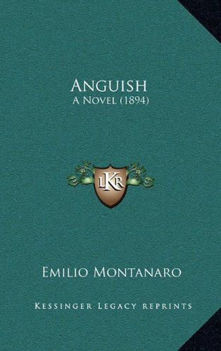 Anguish: A Novel (1894)