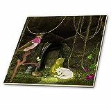3drose niedliche Einhorn Baby Schlafsack mit Elf Fliesen, 30,5x 30,5cm