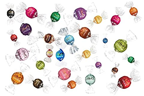 LINDT LINDOR ULTIMATE COLLECTION ASSORTED CHOCOLATES (25 VARIETIES) (25)