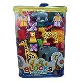 #9: Mayatra's Happy Zoo Animal Blocks Game Toys