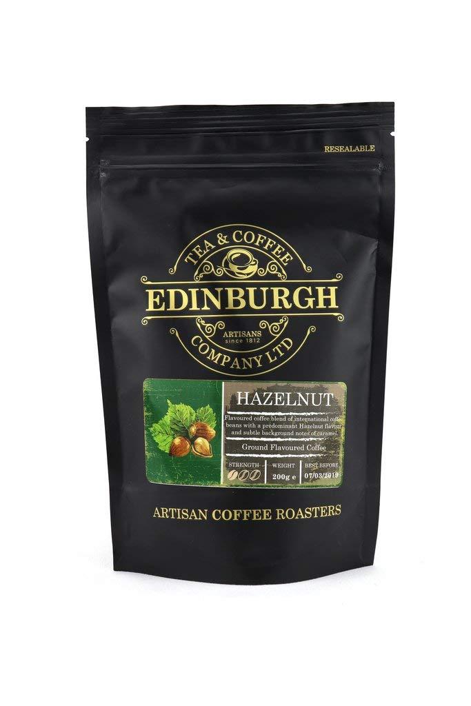 Hazelnut Ground Flavoured Coffee – Edinburgh Tea and Coffee Company