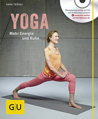 Yoga. Mehr Energie und Ruhe (mit CD) (GU Multimedia) Buch-Cover