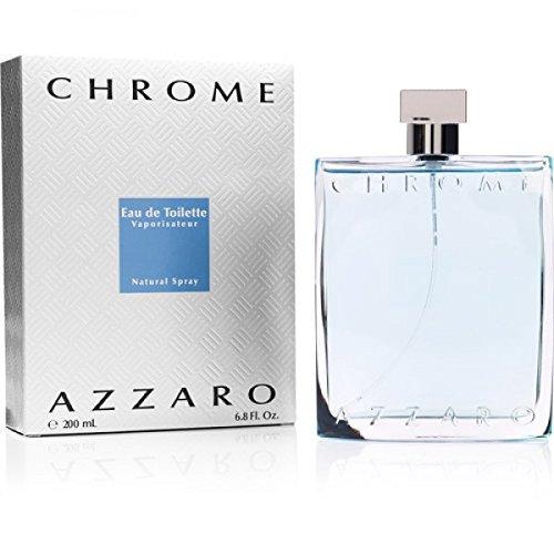 AZZ AR0 Chr ome Pour Homme Eau de toilette 200ml Neuf en boite
