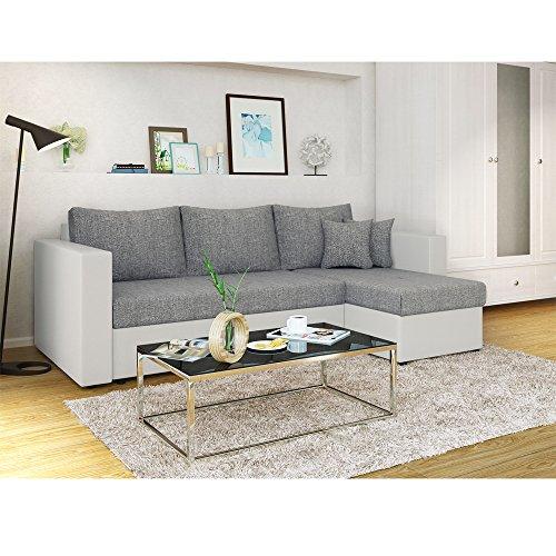 oskar ecksofa mit schlaffunktion und bettkasten g nstig kaufen. Black Bedroom Furniture Sets. Home Design Ideas