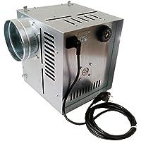 Darco - Ventilador de aire caliente WK AN1, flujo de aire de 400 m3/