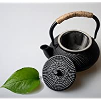 Hwagui-POT del tè del ghisa con l'infusore dell'acciaio inossidabile Teiera giapponese per il tè verde organico 300ML/10oz
