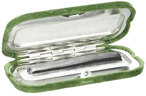 Herbertz Schwarzes Lederetui, für Messer mit 10cm Heftlänge, grau, M