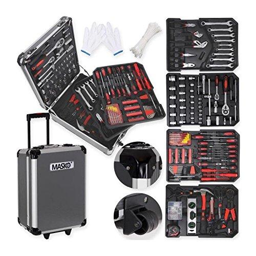 Preisvergleich Produktbild MASKO Valise multi outils 725 pieces noir