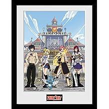 GB eye Fairy Tail, clave de la temporada 1arte, enmarcado impresión 30x 40cm, varios