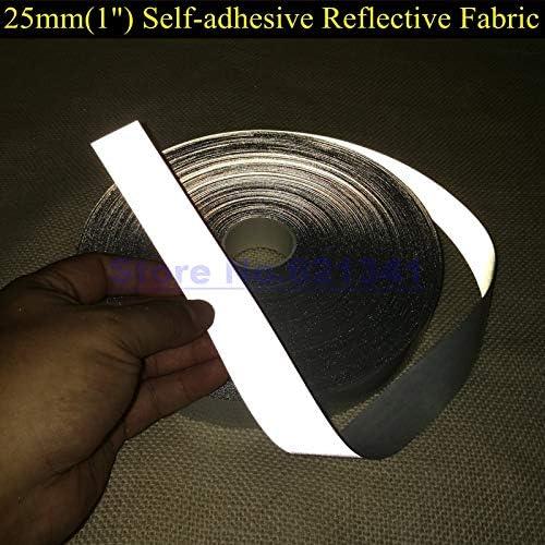 CUSHY 25mm (1 & & & quot;) Autoadesivi Brillante argentoo Riflettente Tessuto TC Nastro Sicurezza Attenzione Nastro Riflettente Materiale  50 Metri | I Consumatori In Primo Luogo  | Per La Vostra Selezione  | Eleganti  | Una Grande Varietà Di Merci  | Abi 18203e