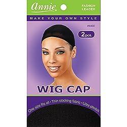 Wig Cap (Black) 12 Piece