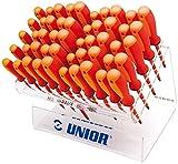 Unior Schraubendreherset VDE Tbi, im Plexidisplay, 1 Stück, 603S50VDET