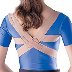 Oppo Medical Elastic Posture Aid/Clavicle Brace - XL