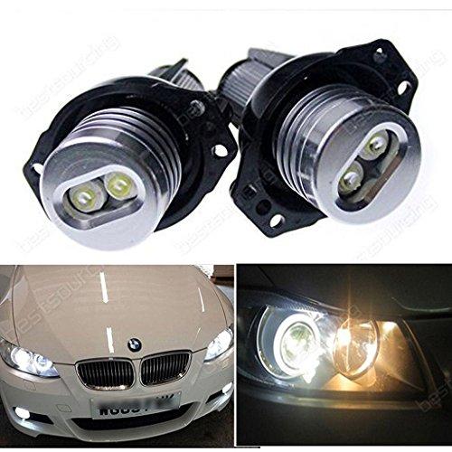Preisvergleich Produktbild AR 12W Canbus BMW 3er E90 E91 LED ANGEL EYES Licht STANDLICHT MARKER Ringe Lampen [Energieklasse A++]