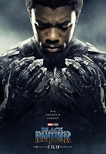 Import Black Panther – U.S Movie Wall Póster