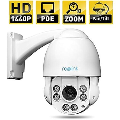 Reolink RLC-423-LB IP Camera 4MP 1440P POE PTZ Security Camera