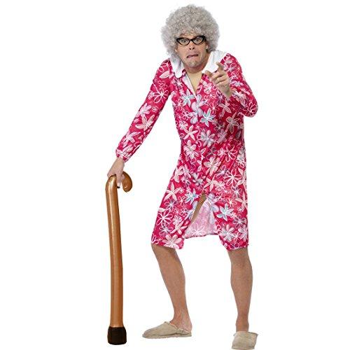 Aufblasbare Gehhilfe Gehstock zum Aufblasen Handstock Kostümzubehör Spazierstock alter Mann Opakostüm Zubehör Mottoparty - Spazierstock Aufblasbare