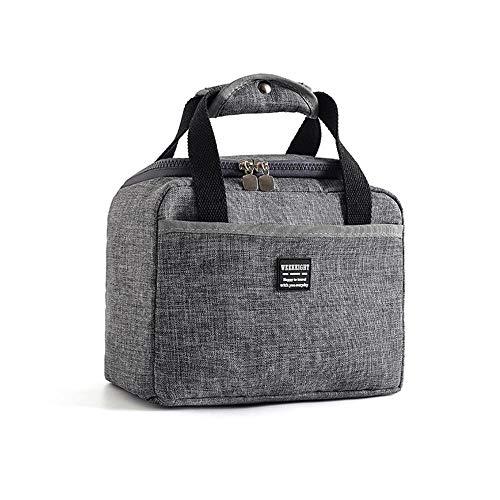 FOONEE Large Lunch Bag Auslaufsicherer, Wiederverwendbarer Lunch Bag Für Den Lunch Cooler Und Isolierte, wasserdichte Büroarbeitsschule -