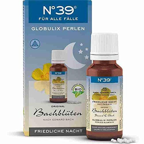 BACHBLÜTEN Notfall No.39 Globulix Nacht 20 g Granulat