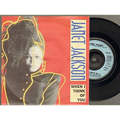 JANET JACKSON - WHEN I THINK OF YOU - 7 inch vinyl / 45