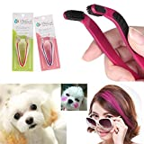 Videoleuchte Dog Hair Coloring Tool Hair Bleach Comb Hair Dye Pet Hair Highlighting D.I.Y. Hair Dye Brush Hair Styling