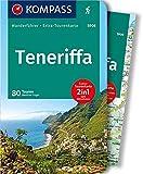 Teneriffa: Wanderführer mit Extra-Tourenkarte 1:62.500, 80 Touren, GPX-Daten zum Download.: Wandelgids met overzichtskaart (KOMPASS-Wanderführer, Band 5906)