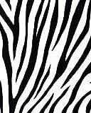 Papel Pintado Cebra Imitación con detalle pelo