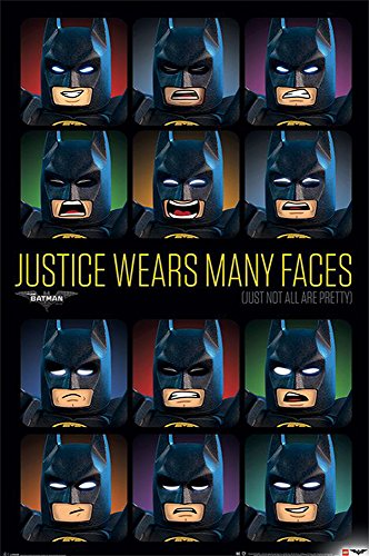 poster-the-lego-batman-movie-justice-wears-many-faces-61cm-x-915cm
