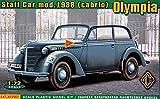 ACE ACE72507 Modellbausatz Olympia (Cabrio) Staff Car,Model 1938