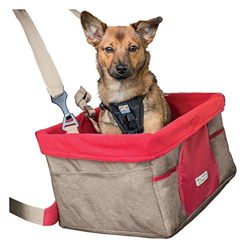 Kurgo para Coche de Asiento para Perros de Razas pequeña, Nuez moscada
