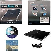 Samsung Ultra Slim dettaglio esterno 3D Blu Ray Writer BDXL DVD CD Burner scatola al minuto con 3pk GRATIS Mdisc BD + Software + Cavo