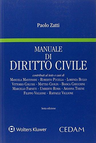 Manuale di diritto civile di Paolo Zatti