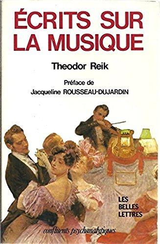 Écrits sur la musique par Theodor Reik