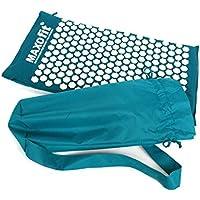 Kit d'acupression MAXOfit turquoise medium 75 x 44 x 2,5 cm avec poche pour tapis de yoga avec fonction massage de détente