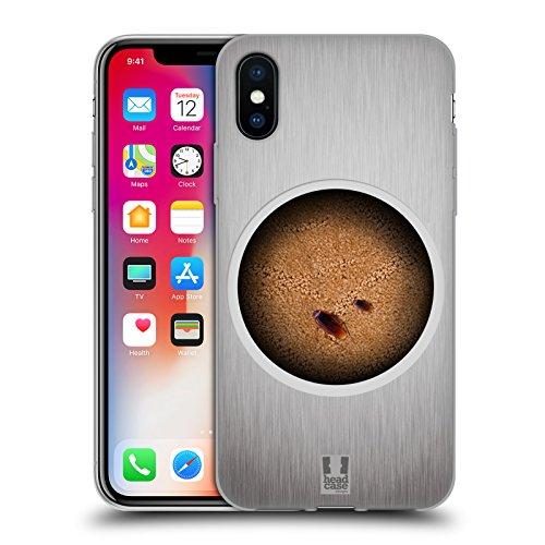 Head Case Designs Formiche Sul Tavolo Camaleonte Cover Morbida In Gel Per Apple iPhone X Scarafaggi Sotto Il Tavolo