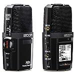Zoom-H2n-Stereo-Recorder-MP3-Wav-KEEPDRUM-WS-BK-Fell-Windschutz