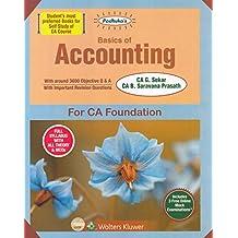 Padhuka's Basics of Accounting for CA Foundation 2019