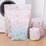 Smilikee Mesh Wäschesäcke 5 STÜCKE Kleidung Waschen Taschen Für Wäsche Reise Lagerung Organisieren Tasche Wäschesäcke Für Feinheiten Mit Premium Reißverschluss
