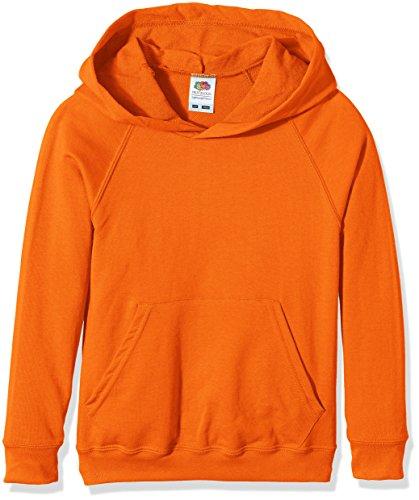 ngen Kapuzenpullover Ss056b, Orange, 12-13 Jahre ()