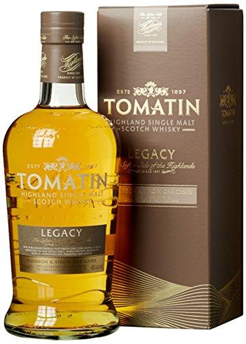 Tomatin Distillery Legacy Highland Single Malt Scotch Whisky (1 x 0.7 l)