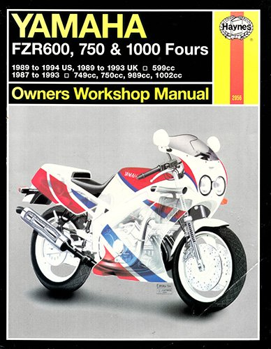 Yamaha FZR600, 750 and 1000 Owners Workshop Manual (Haynes Owners Workshop Manuals)