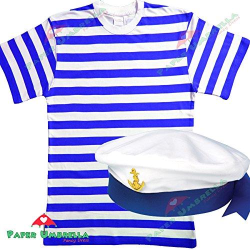 Da uomo marinaio costume