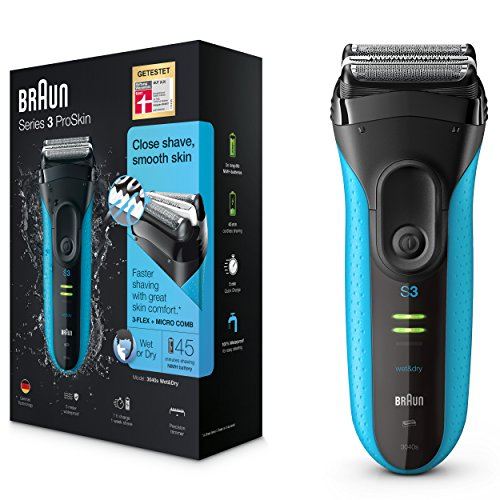 Braun Series 3 3040s-4 Rechargeable Wet and Dry Foil...