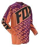 FOX 360 Given Jersey, Farbe schwarz-orange, Größe S