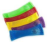 ZIO Products Juguete para terapia de relajamiento Paquete de 10 Rojo Verde Amarillo Azul Púrpura