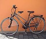 BISOMO Fahrrad Kindersitz - DDR Zeiten - Vorn StVO/StVZO (Damen No.1 - Ø 22-35 mm, Schwarzer Sattel)