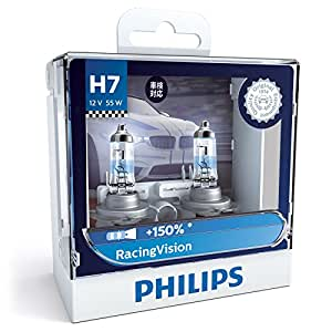 philips racingvision h7 12972rvs2 headlamps 12v 55w 2. Black Bedroom Furniture Sets. Home Design Ideas