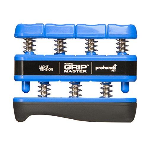 Prohands by Gripmaster medical - Aparato entrenador de dedos, color azul, resistencia 5 lbs